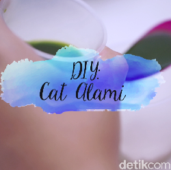 Video: DIY Cat Warna Alami yang Simpel untuk si Kecil