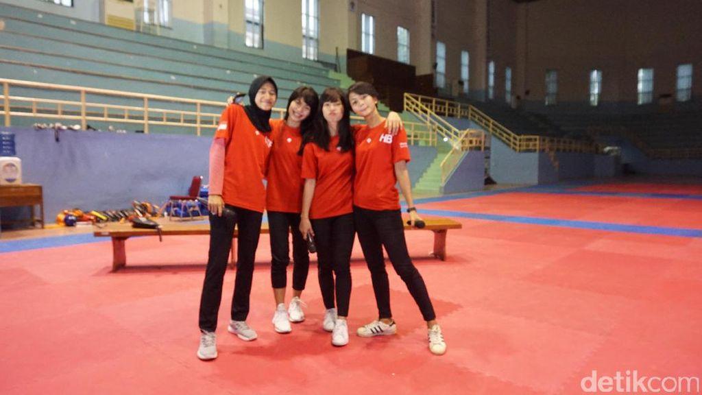 Tantangan Terbesar dari Taekwondo Buat Mutiara Habiba dkk.