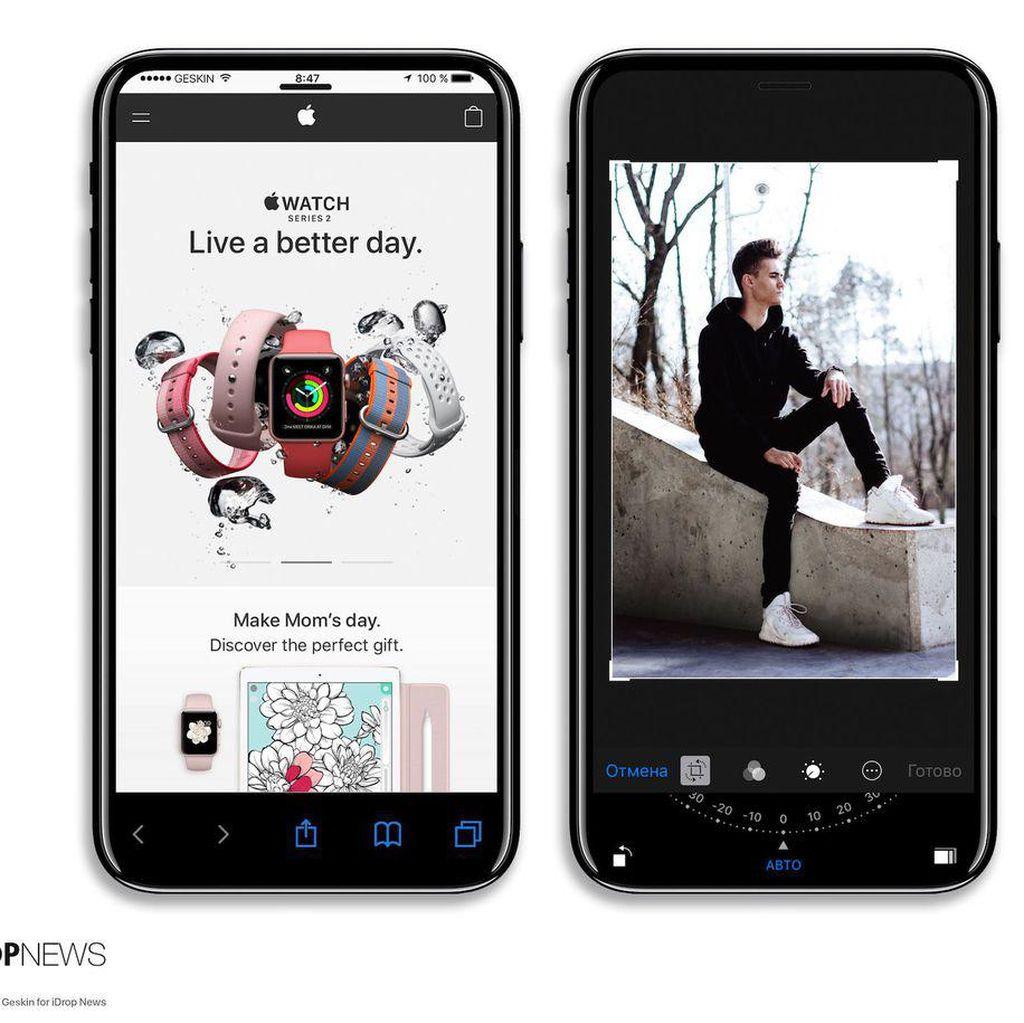 Konsep iPhone 8 yang Bikin Terpana