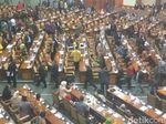Nyanyian Anggota Gerindra Saat Walk Out Paripurna RUU Pemilu