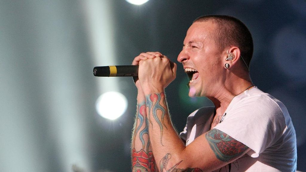Streaming Lagu Linkin Park Naik 7.000 Persen Usai Chester Bennington Tewas