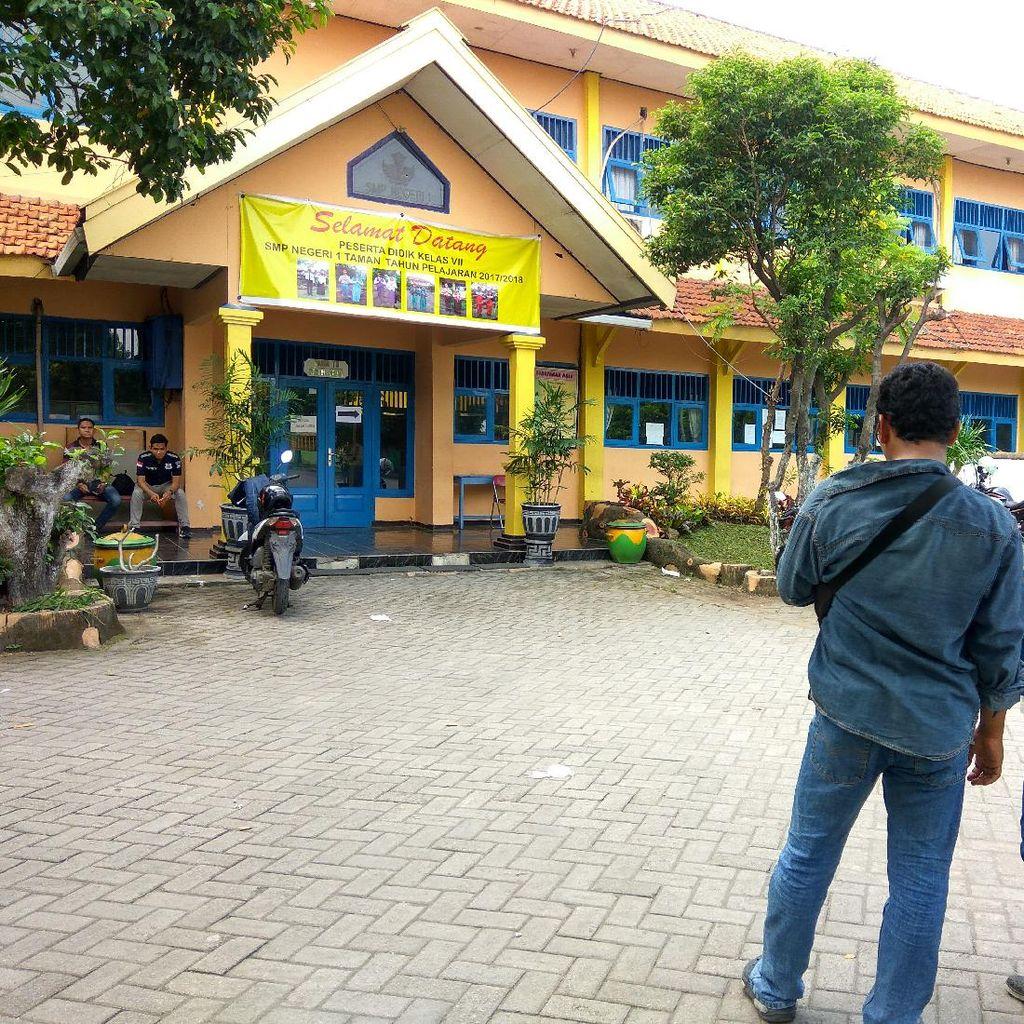 SMPN 1 Taman Jadi Korban Hoax, Tidak Ada Pelajar Terluka saat MOS
