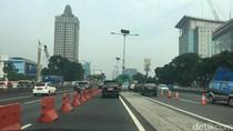 Contraflow Diberlakukan di Tol Cawang, Macet Arah Grogol Terurai