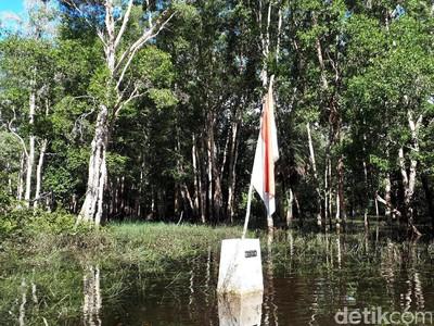 Foto: MM 12.2 Titik Terdepan Timur Indonesia