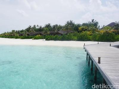 Pantai di Maldives Kenapa Bersih Banget Sih!