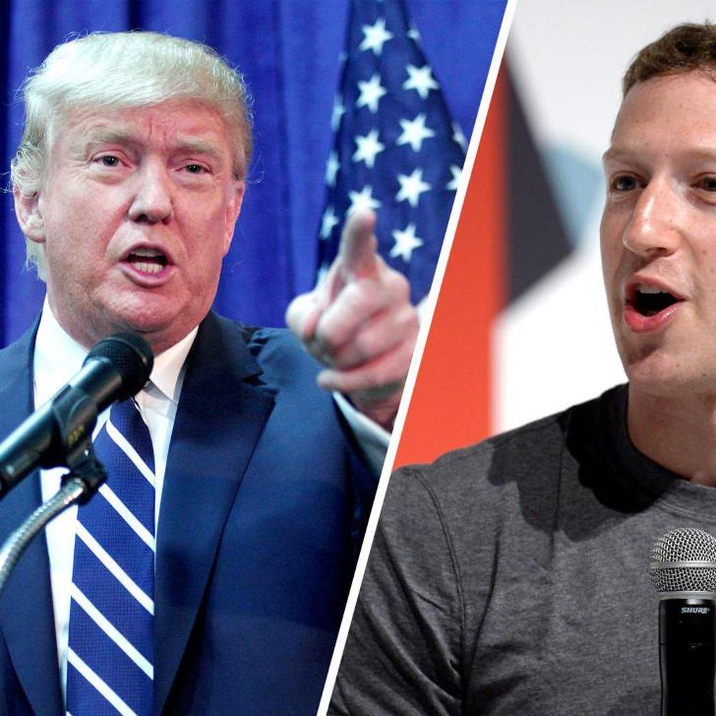 Inikah Tanda Donald Trump Ketakutan Pada Zuckerberg?