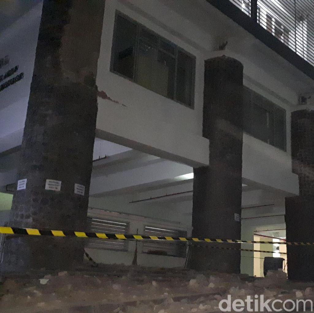 6 Orang Jadi Korban Batu Pilar ITB Runtuh, Ada yang Terluka di Kepala