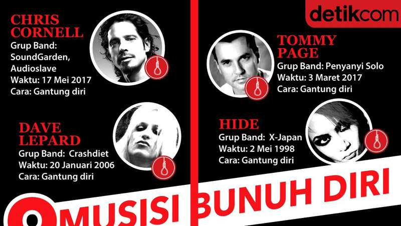 Dari 9 Musisi, Kurt Cobain Masih Pegang Cara Bunuh Diri Terhoror