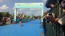 Palembang Gelar Asian Triathlon Championship 2017