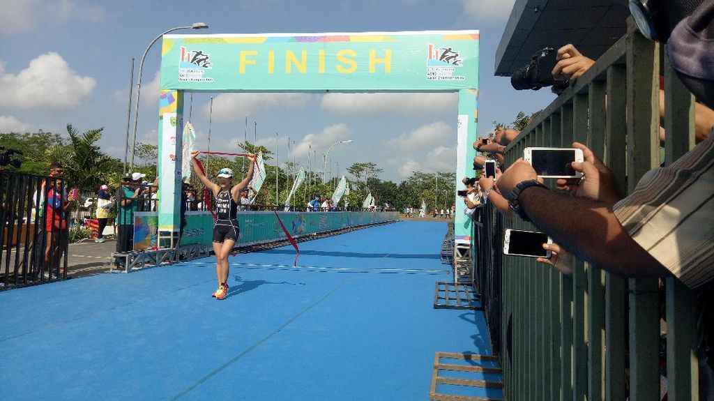 Palembang Gelar Asian Triathlon Championship 2017