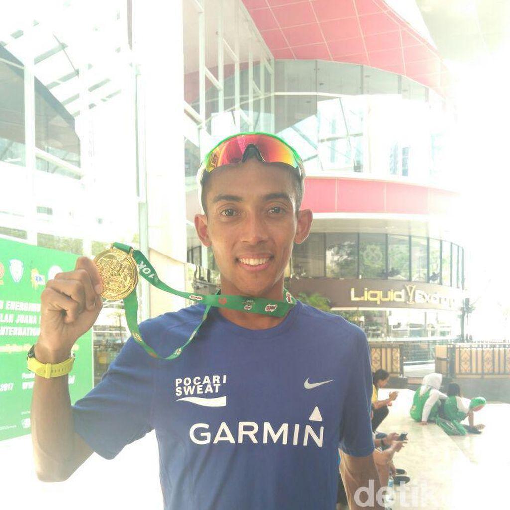 Jakarta 10K Jadi Pemanasan Agus Prayogo Jelang SEA Games