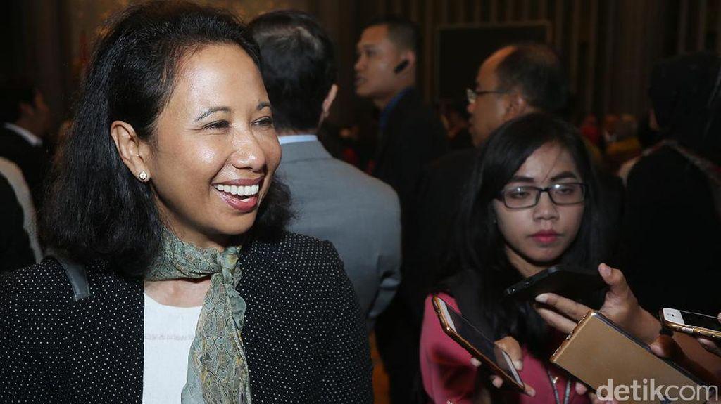 Rini Soemarno Tak Ikut Dampingi Jokowi di DPR, ke Mana?