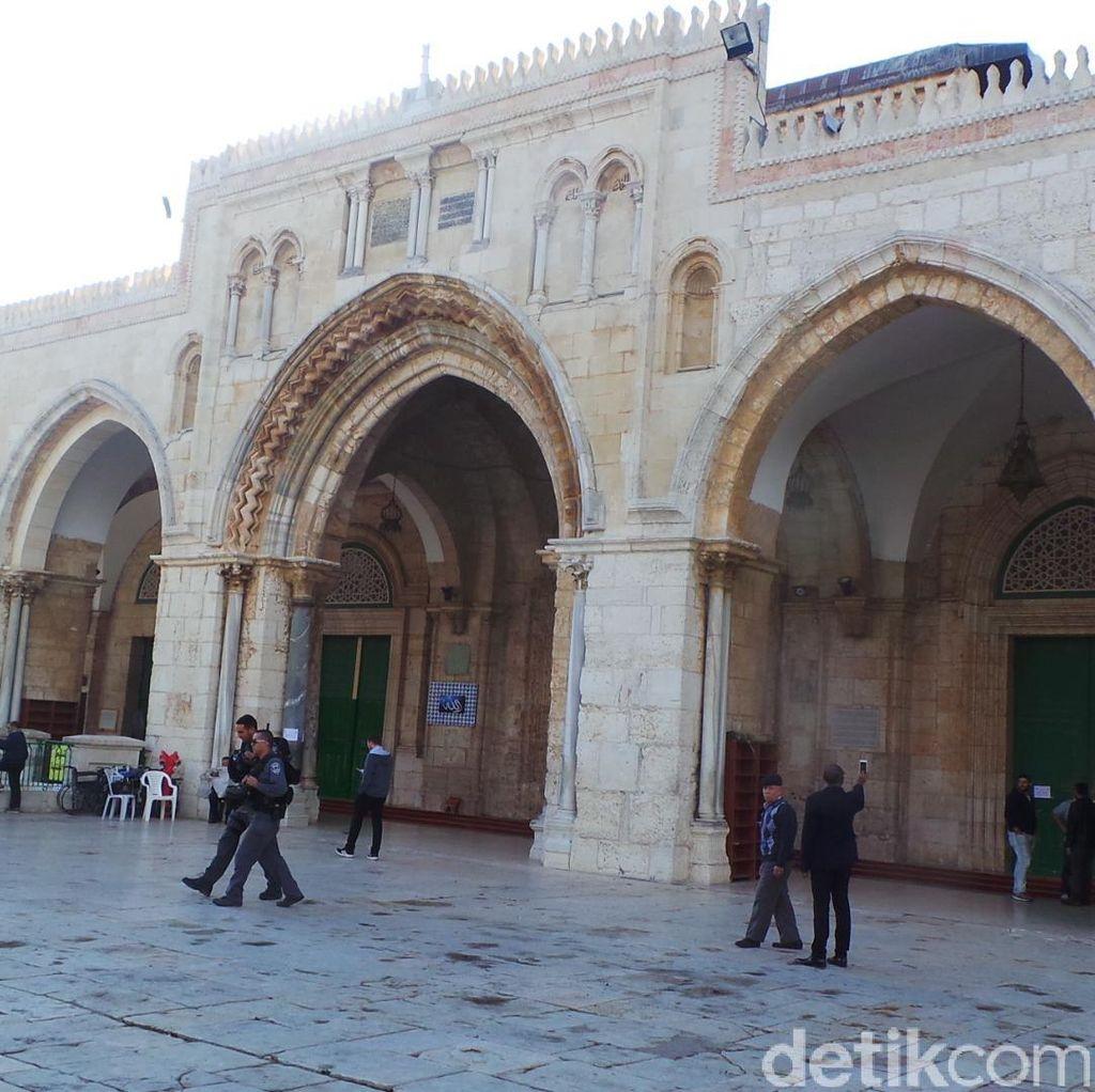 Israel Tegaskan Tak Akan Pindahkan Metal Detector di Al-Aqsa