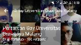 Ini Aturan Wajib Ditaati Grup Komunitas Gay Universitas Brawijaya