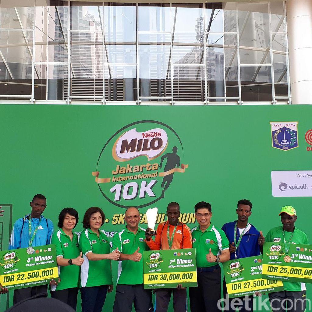 Pelari Kenya Mendominasi Jakarta 10K 2017