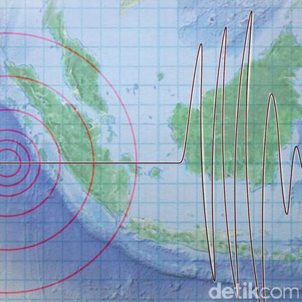 Gempa 5.0 SR Terjadi di Gorontalo, Tak Berpotensi Tsunami