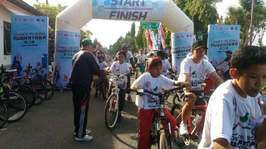 Klungkung Jadi Destinasi ke-30 Gowes Pesona Nusantara