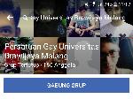 Ini Tanggapan Universitas Brawijaya Soal Grup Komunitas Gay