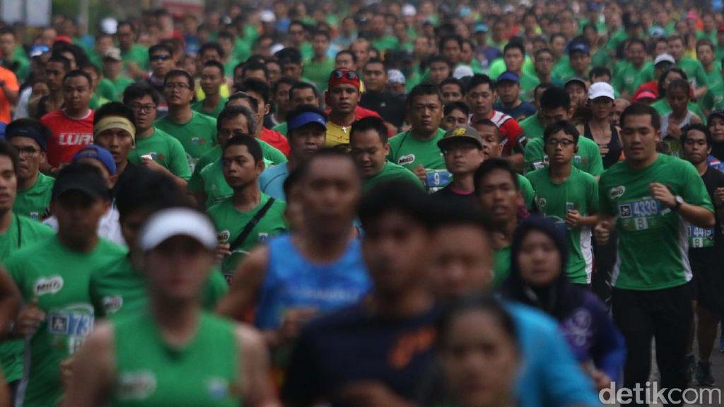 Antusiasme Tinggi, Jakarta 10K Mungkin Kembali ke Monas