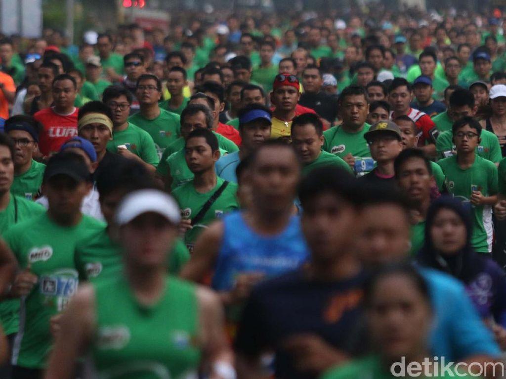 Antuasiasme Tinggi, Jakarta 10K Mungkin Kembali ke Monas
