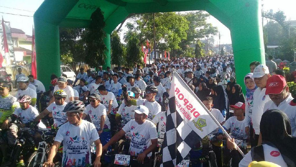Gowes Pesona Nusantara Jadi Ajang Promosi Kabupaten Rejang Lebong
