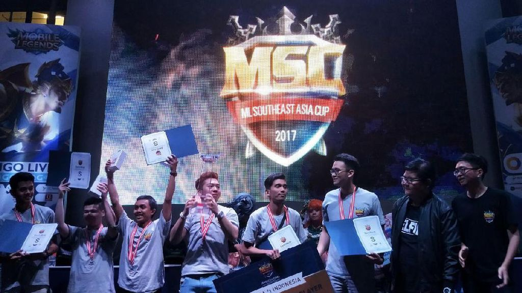 Ini Jawara Kompetisi Mobile Legends Indonesia