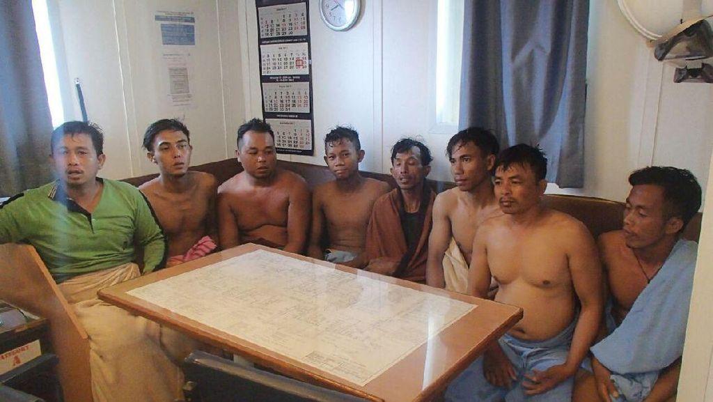 8 Nelayan Ditemukan Mengapung di Laut, 1 Orang Masih Hilang