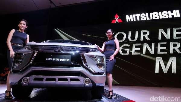 MPV Mitsubishi Pakai Penggerak Roda Depan
