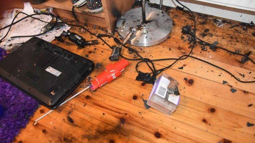 Baterai Diisi Terus-Menerus, Laptop di Rumah Melbourne Ini Meledak