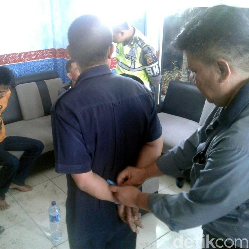 Nyamar Penumpang Angkot, 3 Penjambret Dibekuk Polantas Cianjur