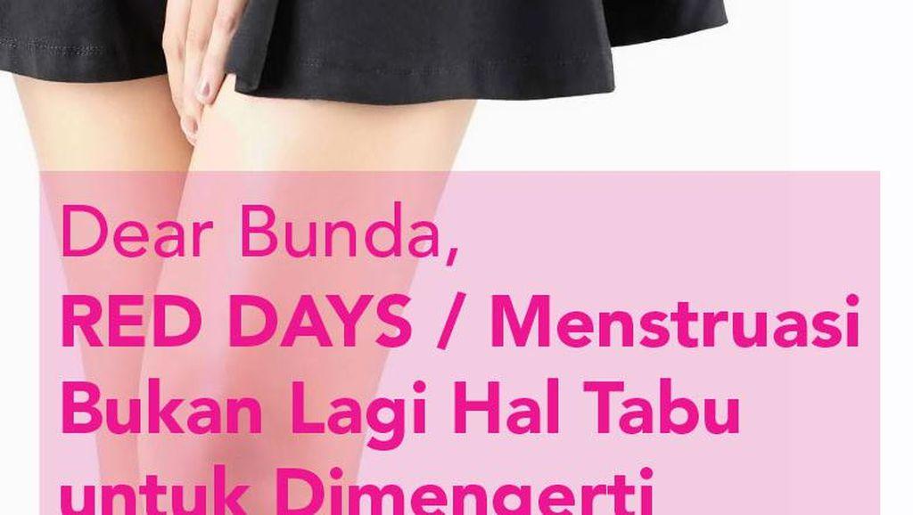 Menstruasi Bukan Lagi Hal Tabu untuk Dimengerti
