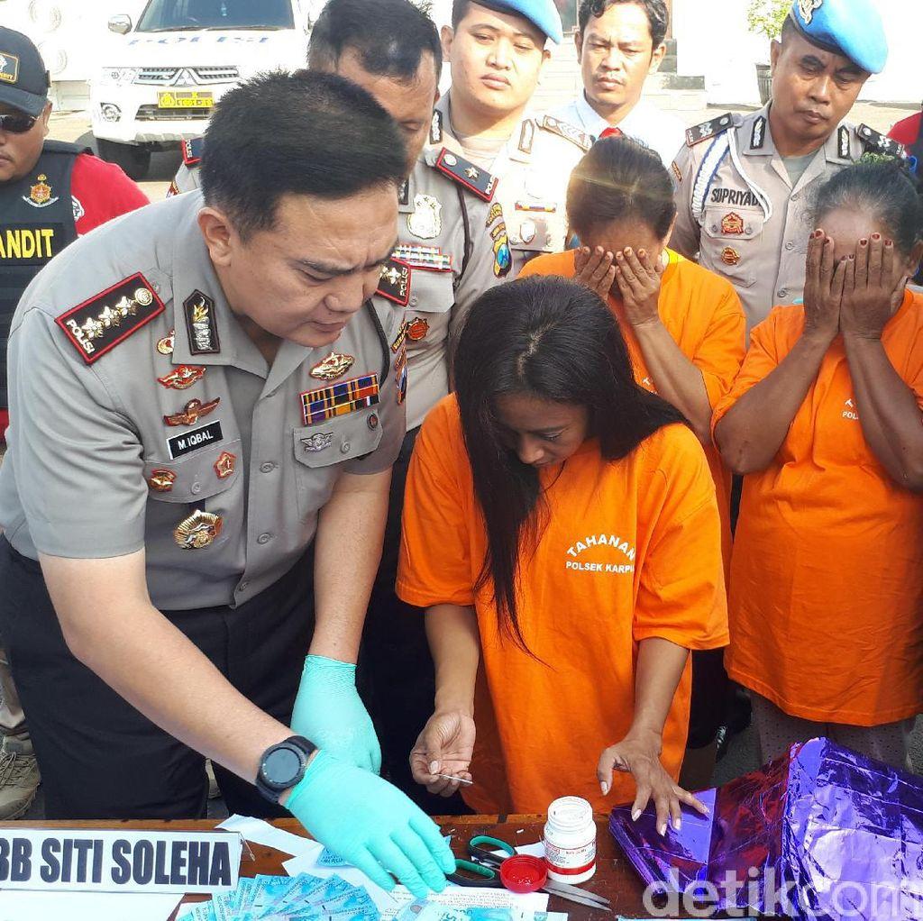 Begini Komplotan Tiga Perempuan di Surabaya Membuat Uang Palsu