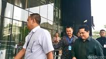 Erick Thohir dan Sjafrie Sjamsoeddin Sambangi KPK, Ada Apa?
