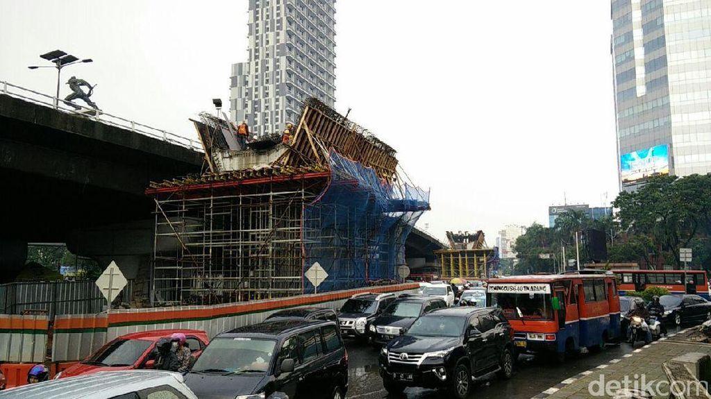 Progres Proyek Flyover Pancoran Sudah Capai 45%