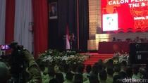 Jokowi Hadiri Pembekalan Capaja TNI-Polri di Mabes TNI Cilangkap