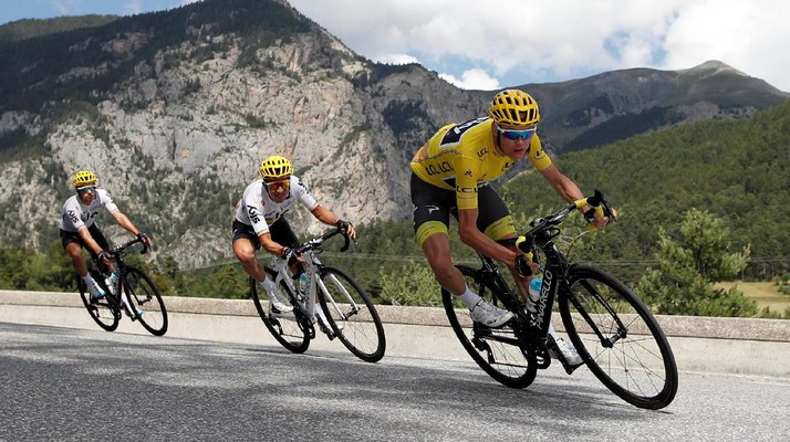 Gelar Keempat Chris Froome di Tour de France