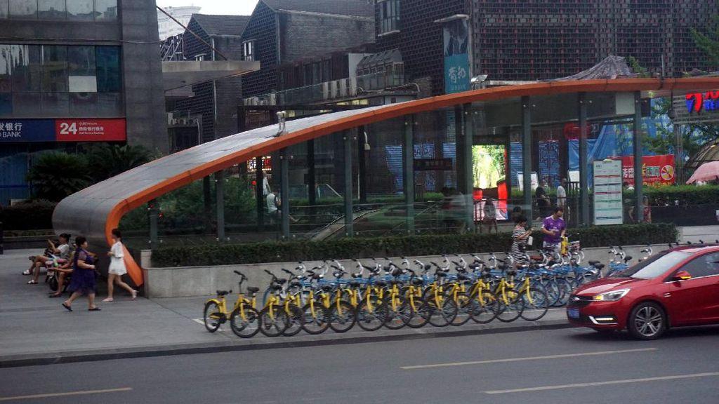 Sewa Sepeda di China Saja Sudah Pakai Aplikasi, Indonesia Kapan?