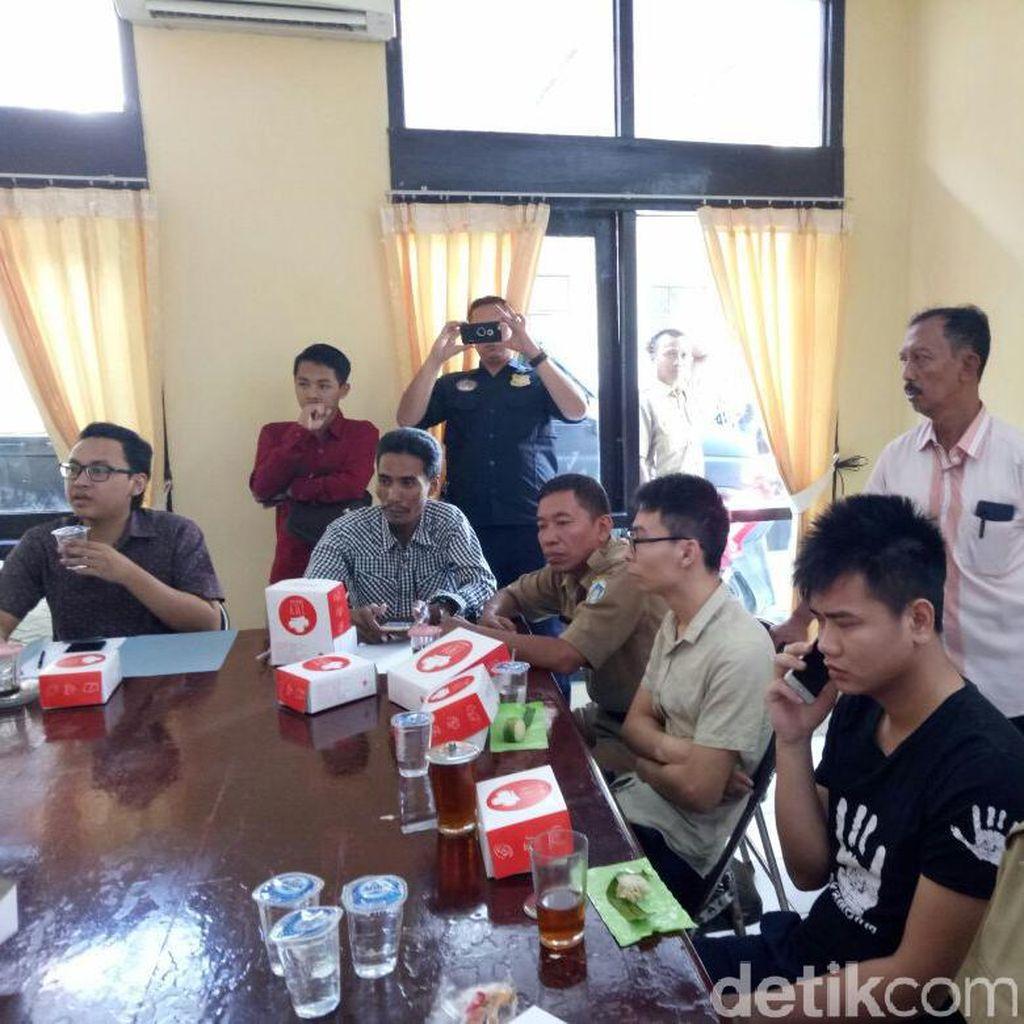 Tim pengawasan Orang Asing Temukan 70 HP di Kontrakan 2 WN Tiongkok