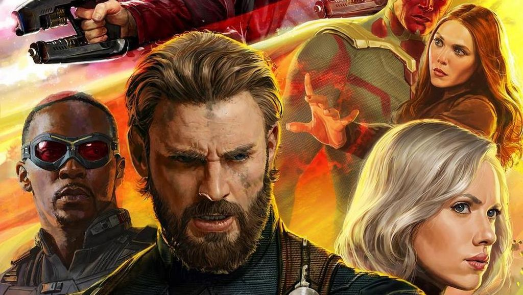 Avengers: Infinity War: Puncak Film Marvel Libatkan Puluhan Superhero
