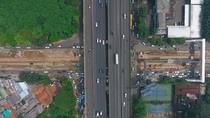 Dari Drone, Seperti ini Kondisi Lalin di Simpang Kuningan