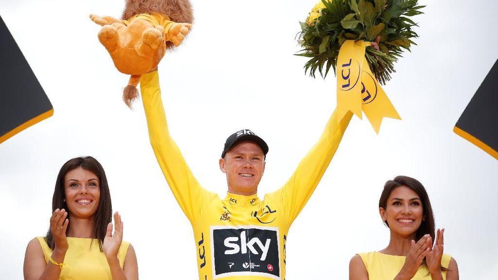 Chris Froome Juara Tour de France untuk Keempat Kalinya