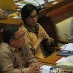 Sri Mulyani dan Kepala Bappenas ke DPR Bahas Perubahan Anggaran 2017