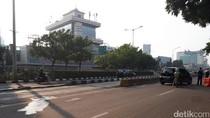 Bebas Macet, Jalan Salemba Raya Kini Lengang Saat Contraflow