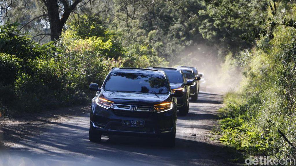 Diuji Tabrak, Honda CR-V Dapat 5 Bintang