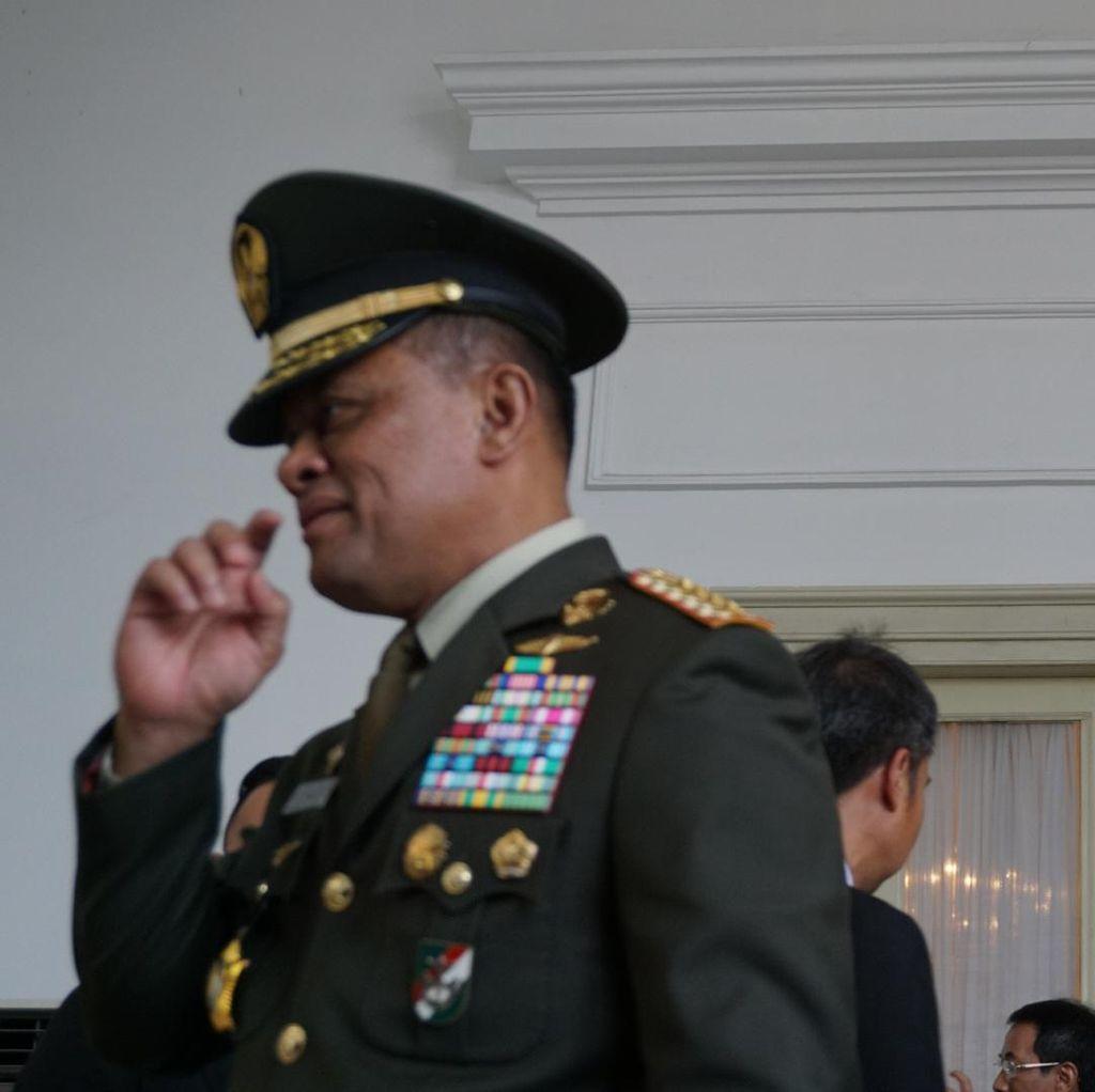 Panglima: Terima Kasih Presiden Jokowi Telah Lantik Capaja TNI-Polri