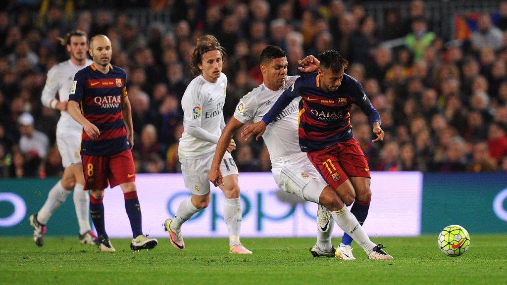 Canda Casemiro: Neymar Akan Disambut Baik di Madrid