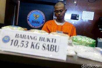 BNN Ungkap Narkoba 10 Kg dalam Mesin Cuci