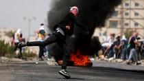 Aksi Pemuda Palestina versus Polisi Israel