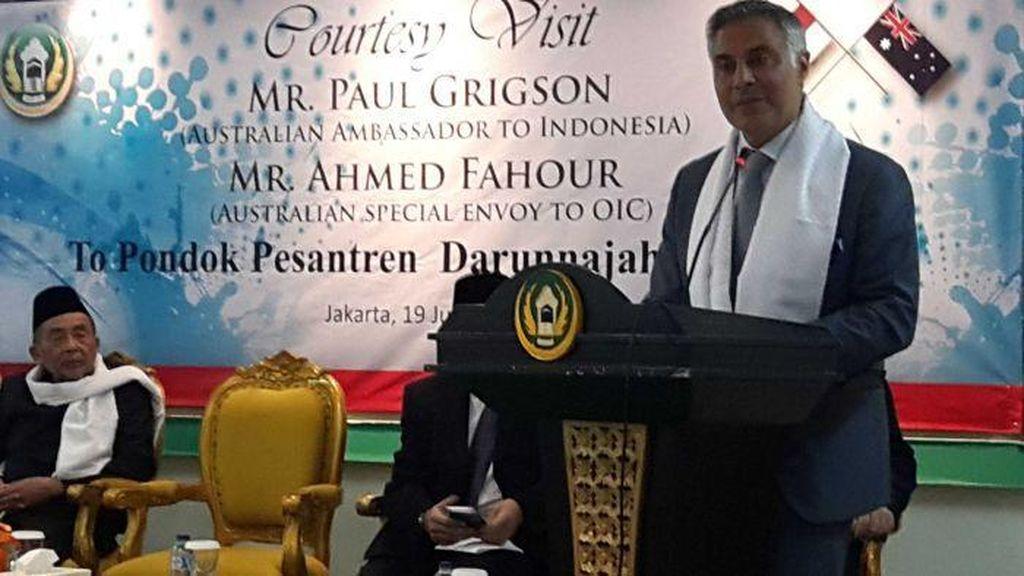 Tokoh Muslim Australia Ahmed Fahour Berbagi Kiat Atasi Radikalisme