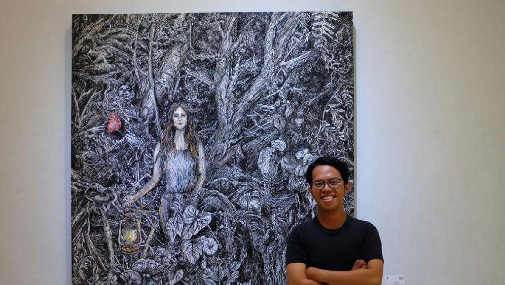 Galih Reza Suseno, Seniman Pendatang Baru di Antara Ribuan Pelukis